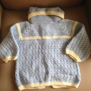 Other - 🌺 24 month Hand  Crocheted Toddler sweater
